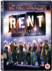 Rent: The Final Performance - Filmed Live On Broadway - DVD