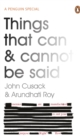 Things That Can and Cannot Be Said - Book
