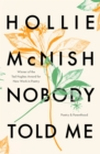 Nobody Told Me : Poetry and Parenthood - eBook