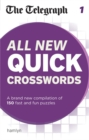 The Telegraph: All New Quick Crosswords : 1 - Book