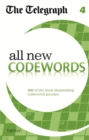Telegraph All New Codewords 4 - Book