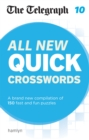 The Telegraph: All New Quick Crosswords 10 - Book