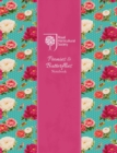 RHS Peonies and Butterflies Notebook (Silver) - Book
