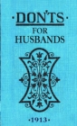 Don'ts for Husbands - Book