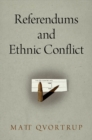 Referendums and Ethnic Conflict - eBook