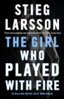 The Girl Who Played with Fire - Book