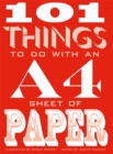 101 Things to Do with an A4 Sheet of Paper - Book