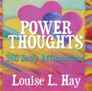 Power Thoughts : 365 Daily Affirmations - Book
