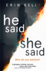 He Said/She Said - Book