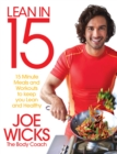 Lean in 15 - the Shift Plan : 15 Minute Meals and Workouts to Keep You Lean and Healthy - Book