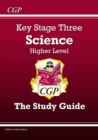 KS3 Science Study Guide - Higher - Book