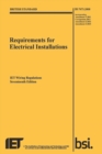 Requirements for Electrical Installations, Iet Wiring Regulations, BS 7671:2008+A3:2015 - Book