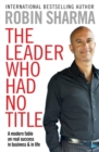 The Leader Who Had No Title - Book