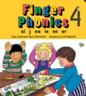 Finger Phonics book 4 : in Precursive Letters (BE) - Book