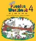 Jolly Phonics Workbook 4 : in Precursive Letters (BE) - Book