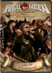 Helloween: Live On 3 Continents, DVD DVD