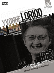 Yvonne Loriod: Pianist and Teacher, DVD DVD