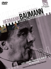 Hermann Baumann: Horn Master and Teacher, DVD DVD