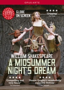 A   Midsummer Night's Dream: Shakespeare's Globe, DVD DVD