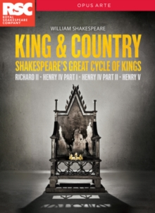 King & Country - Shakespeare's Great Cycle of Kings, DVD DVD