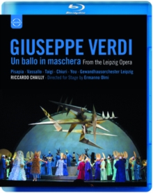 Un Ballo in Maschera: Leipzig Opera (Chailly), Blu-ray  BluRay