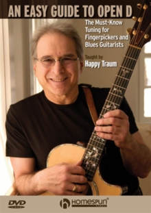 An  Easy Guide to Open D - Taught By Happy Traum, DVD DVD
