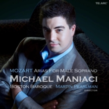 Arias for Male Soprano, CD / Album Cd