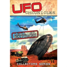 UFO Chronicles: Area 51 Exposed, DVD  DVD
