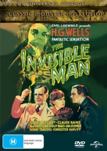 The Invisible Man, DVD DVD