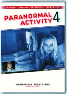 Paranormal Activity 4: Extended Edition, DVD  DVD
