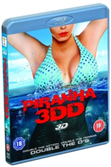 Piranha 3DD, Blu-ray  BluRay