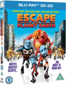 Escape from Planet Earth, Blu-ray  BluRay