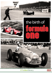 The Birth of Formula One, DVD DVD