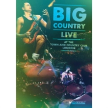 Big Country: Live at the Town and Country Club 1990, DVD  DVD