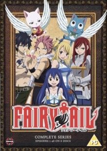 Fairy Tail: The Complete Series, DVD  DVD