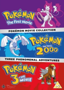 Pokémon Movie Collection, DVD DVD