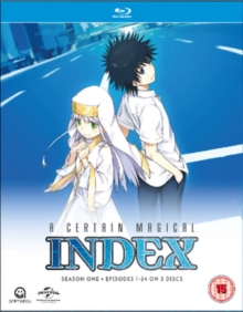 A   Certain Magical Index: Season 1, Blu-ray BluRay