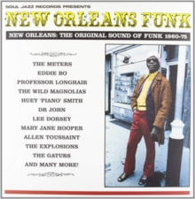 New Orleans Funk: NEW ORLEANS: THE ORIGINAL SOUND OF FUNK 1960-75, CD / Album Cd