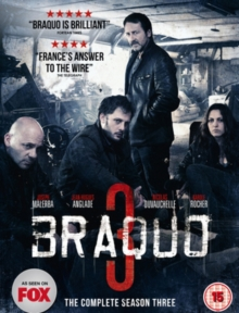 Braquo: The Complete Season Three, DVD  DVD