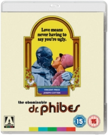 The Abominable Dr. Phibes, Blu-ray BluRay