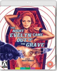 The Night Evelyn Came Out of the Grave, Blu-ray BluRay