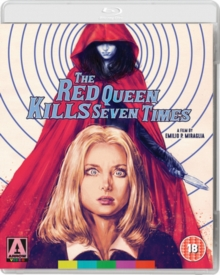 The Red Queen Kills Seven Times, Blu-ray BluRay