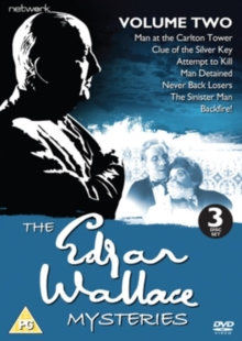 Edgar Wallace Mysteries: Volume 2, DVD  DVD