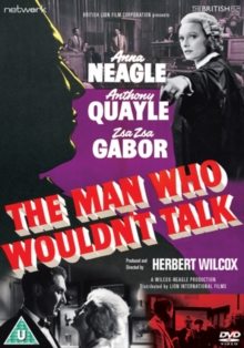 The Man Who Wouldn't Talk, DVD DVD