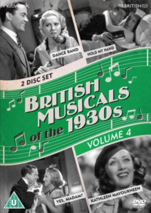 British Musicals of the 1930s: Volume 4, DVD  DVD