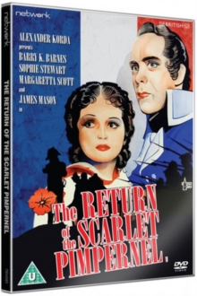The Return of the Scarlet Pimpernel, DVD DVD