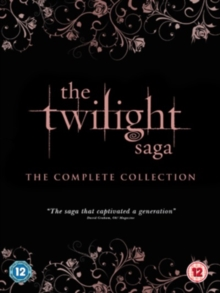 The Twilight Saga: The Complete Collection, DVD DVD