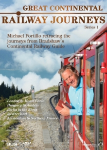 Great Continental Railway Journeys: Series 1, DVD  DVD