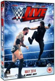 WWE: Live in the UK - May 2014, DVD  DVD