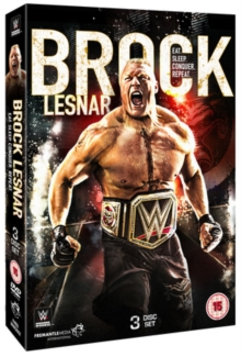 WWE: Brock Lesnar - Eat. Sleep. Conquer. Repeat., DVD DVD